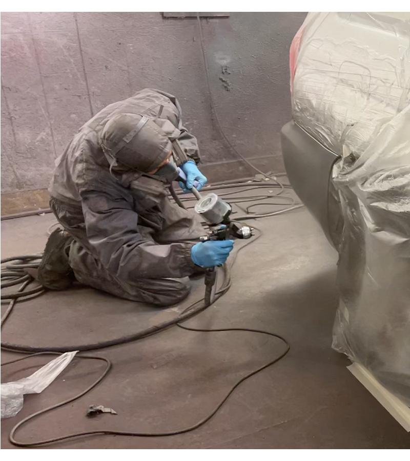 spray paint kendulf motors